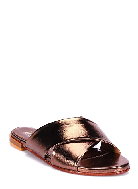 İnci Sandalet Bronz